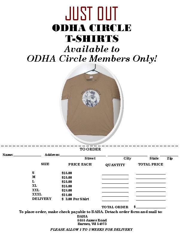 ODHA T-Shirt Poster 2018